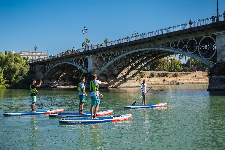 Clases Paddle Surf Sevilla