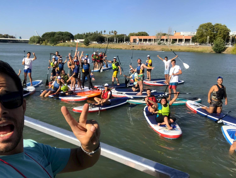 Grupo Paddle Surf Sevilla SUP Guadalquivir