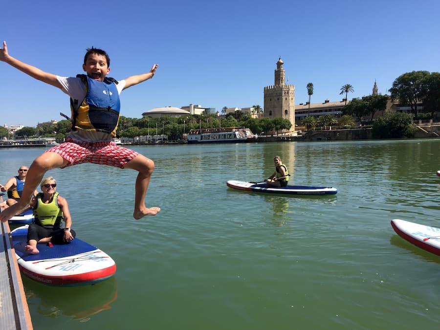Paddle Surf Fun Plan Seville