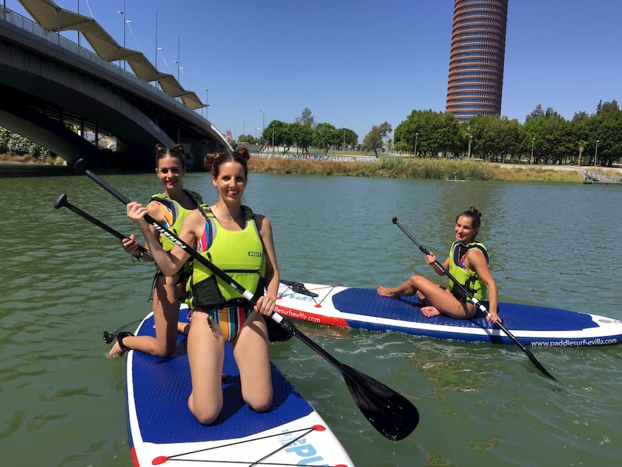 Paddle Surf Girls Seville SUP