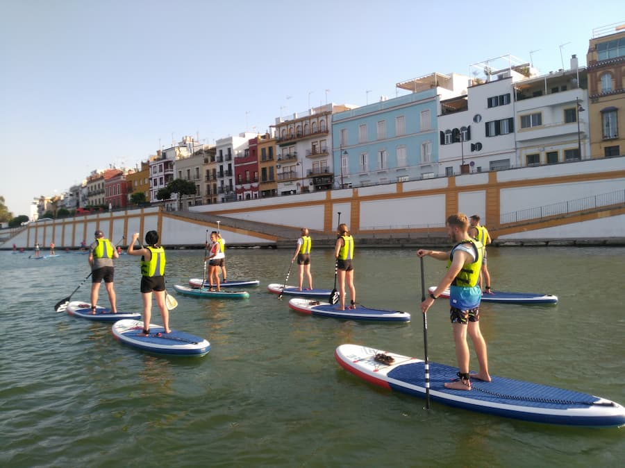 SUP Groups Seville Fun Plan Stand Up Paddle