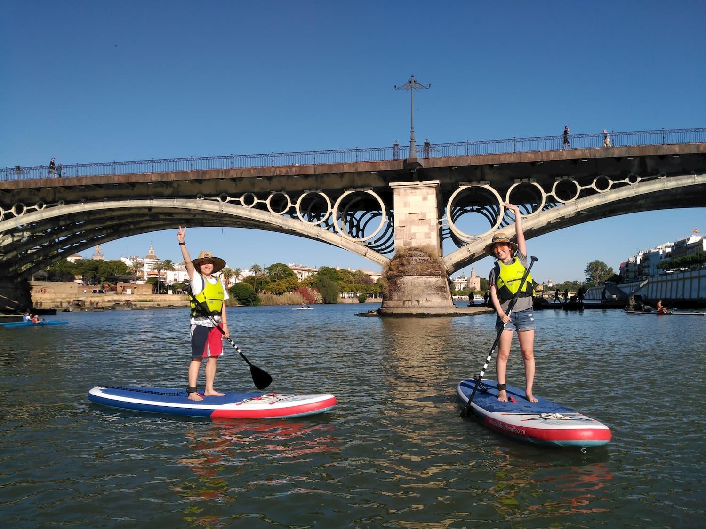 Turistas Sevilla Stand Up Paddle