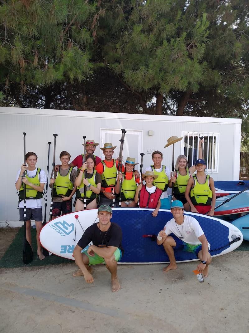 El cordobes en Paddle Surf Sevilla