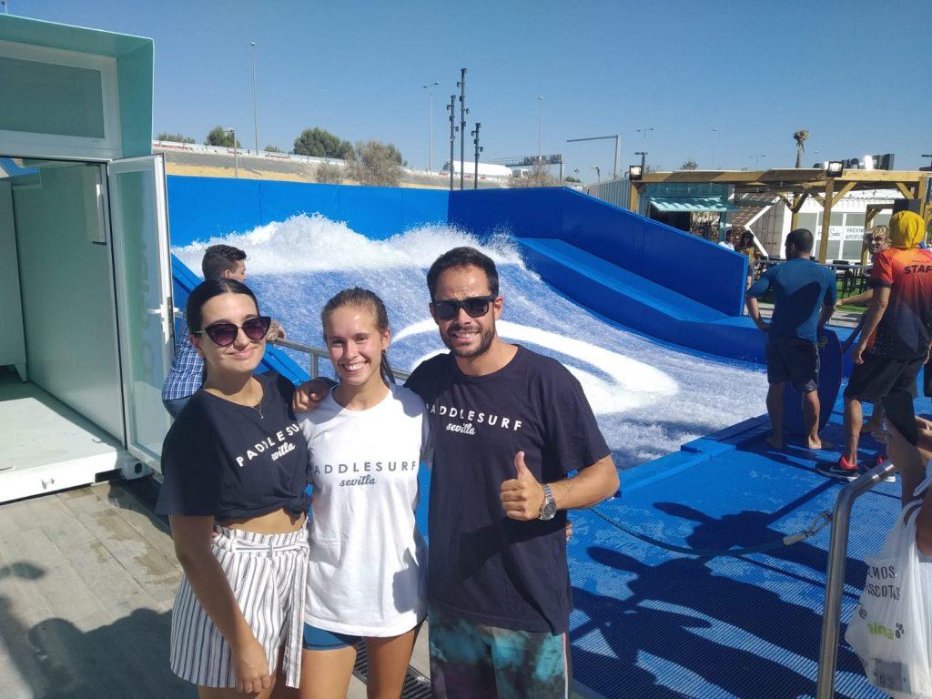 Miembros de Paddle Surf Sevilla