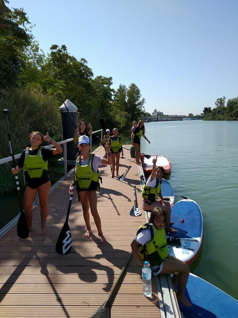 Paddle Surf Niños Sevilla