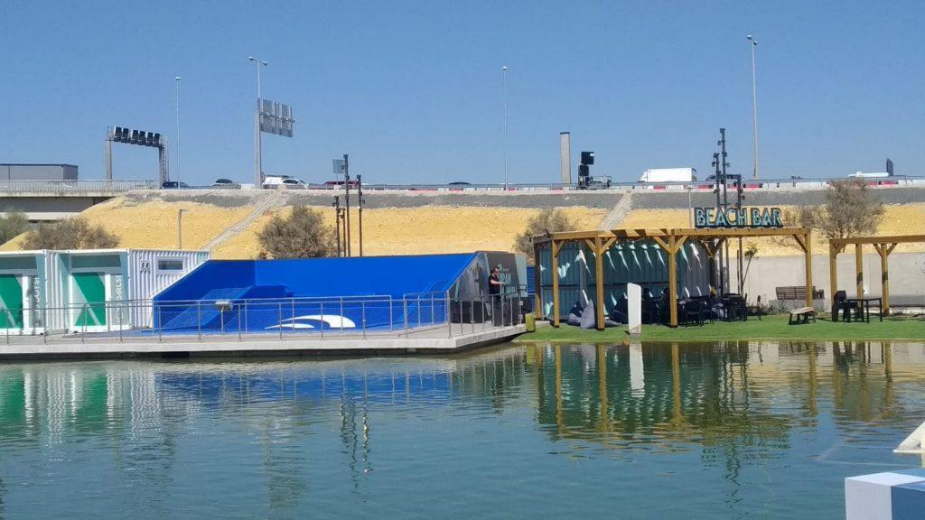 Ubicacion piscina olas en Lagoh